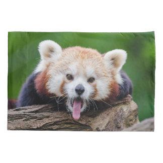 Panda roja funda de cojín