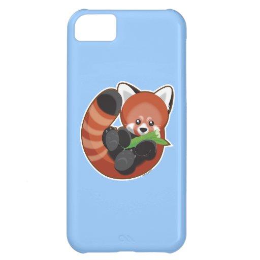 Panda roja funda para iPhone 5C