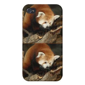 Panda roja iPhone 4/4S carcasa
