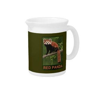 Panda roja jarra