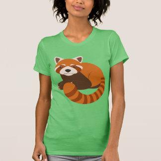 Panda roja linda playeras