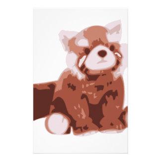 Panda roja papeleria personalizada