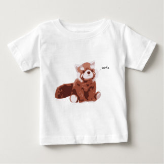 Panda roja playera de bebé