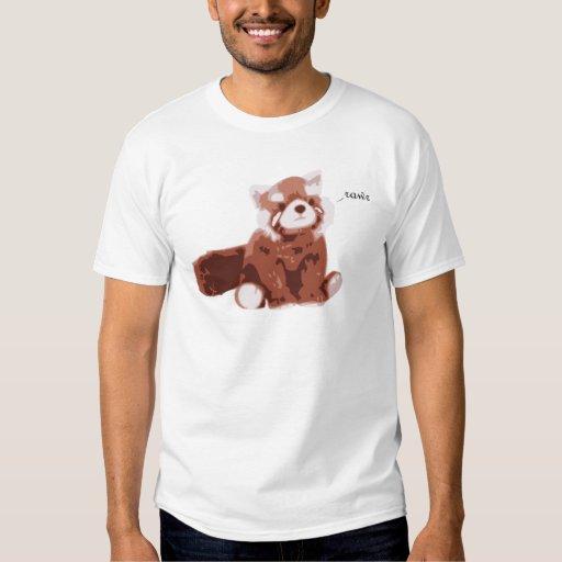 Panda roja poleras