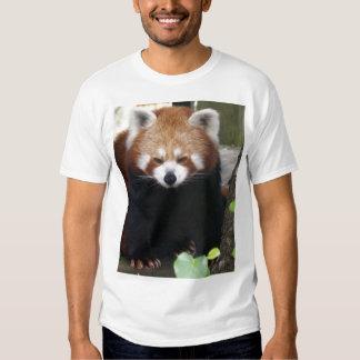 Panda roja remera