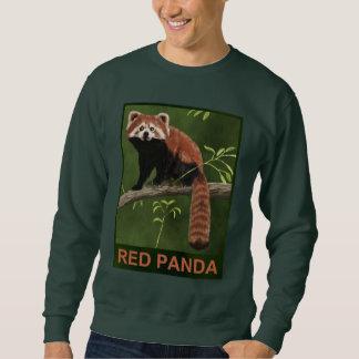 Panda roja sudadera