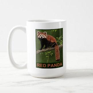 Panda roja tazas