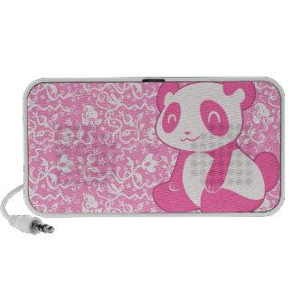 Panda rosada del dibujo animado iPhone altavoces
