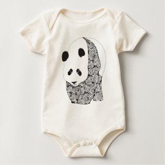 Panda & Roses Bodysuit