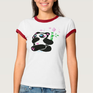 panda run pink, kona fae T-Shirt
