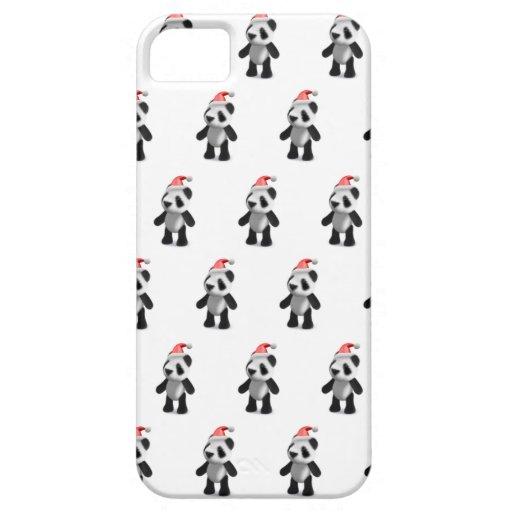panda Santa del bebé 3d iPhone 5 Carcasa