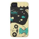 Panda Seal iPhone 4 Case