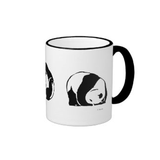 PANDA series Ringer Coffee Mug