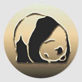 Panda series sticker