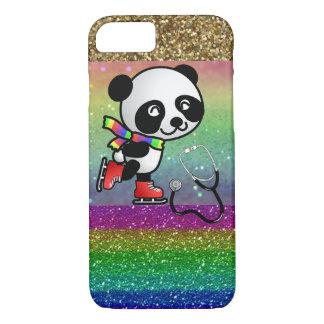 Panda Skate Ice Doctor Nurse Sports Medicine Peace iPhone 7 Case