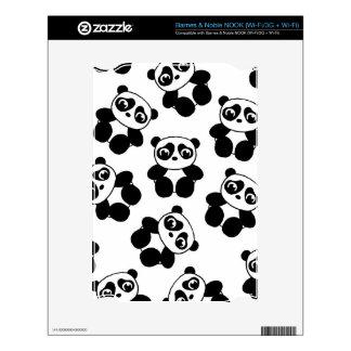 Panda NOOK Decals