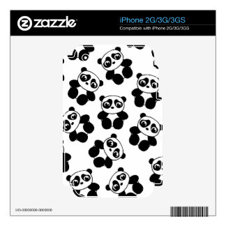 Panda Decal For iPhone 2G
