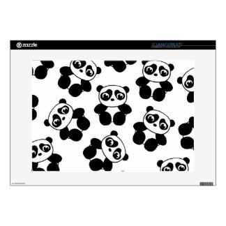 """Panda 15"""" Laptop Skins"""