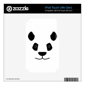 panda skin for iPod touch 4G