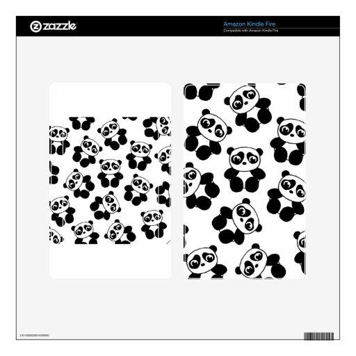 Panda Skin For Kindle Fire