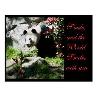 Panda Smile *customizable* Postcard