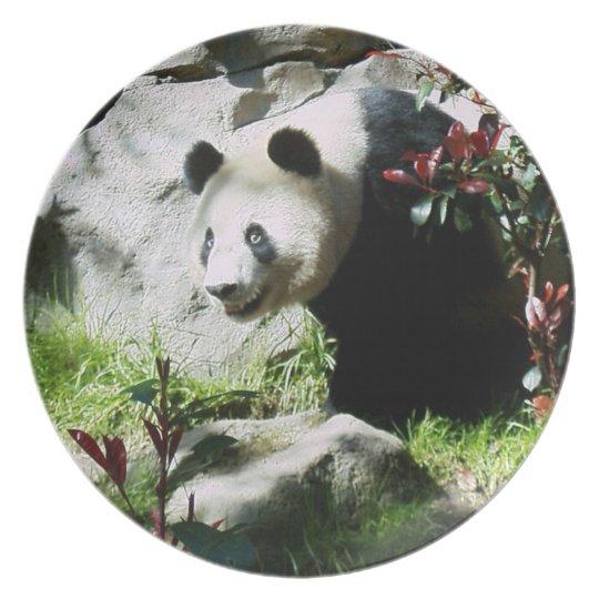 Panda Smile Plate