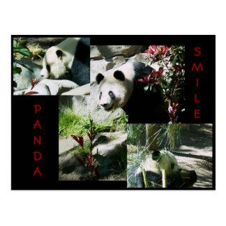 PANDA SMILE POSTCARD