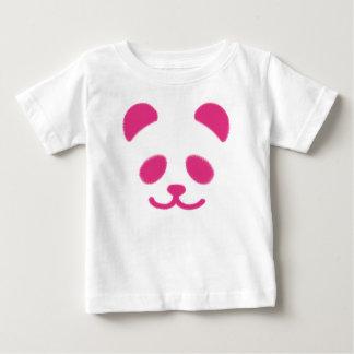 Panda Smiley Pink Baby T-Shirt