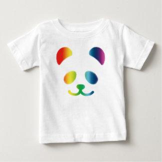 Panda Smiley Rainbow Baby T-Shirt