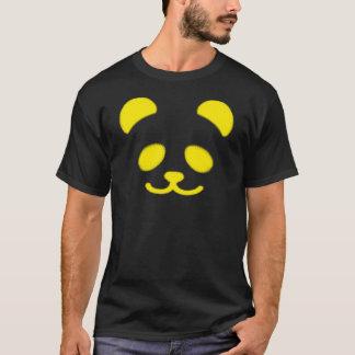 Panda Smiley Yellow T-Shirt