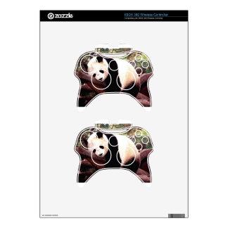 Panda soñolienta mando xbox 360 calcomanía