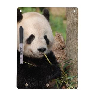 Panda sonriente linda pizarras blancas