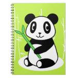 Panda Spiral Note Book