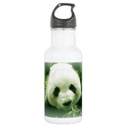Panda Stainless Steel Water Bottle