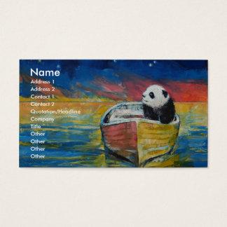 Panda Stargazer Business Card