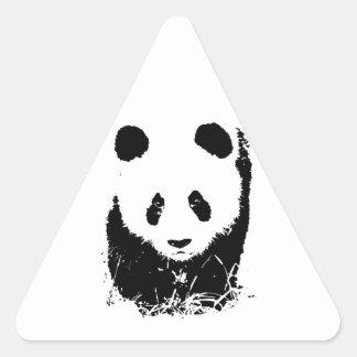 Panda Triangle Sticker