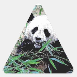 Panda Triangle Stickers