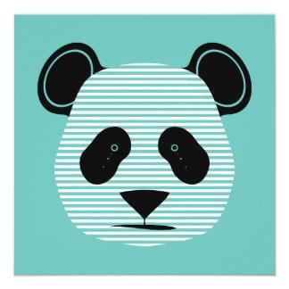 panda stripes card