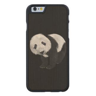 Panda Style Carved Maple iPhone 6 Slim Case