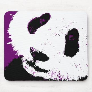 panda. alfombrilla de ratón
