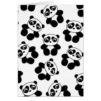 Panda Tarjeta De Felicitación