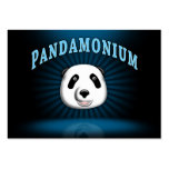panda tarjeta personal