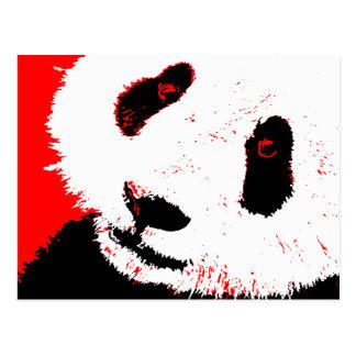 panda. tarjetas postales