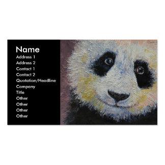 Panda Tarjetas De Visita