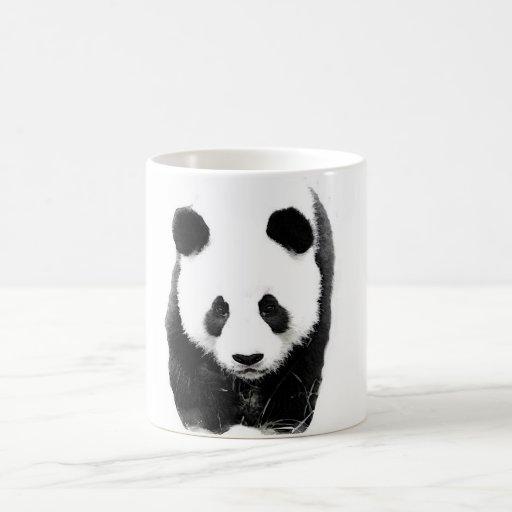 Panda Taza Básica Blanca