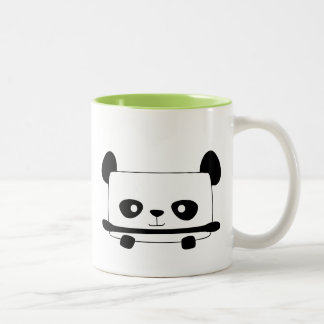 Panda Taza De Dos Tonos
