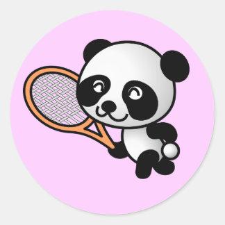 Panda Tennis Sticker