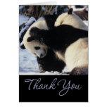 Panda Thank You Cards