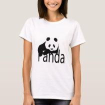 Panda to bear shirt. T-Shirt