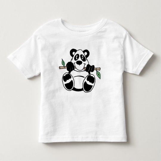 Panda Toddler T-shirt